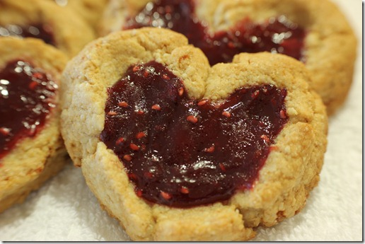Whole Wheat Honey Valentine Cookies