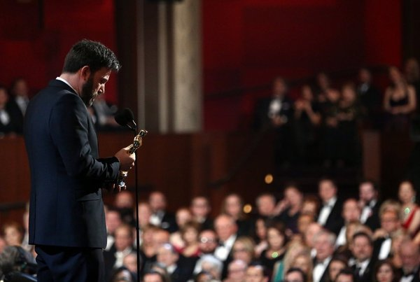 Ben Affleck's Oscar Quote 2013