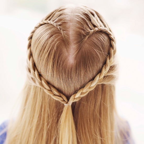 Valentine's Hair Braid