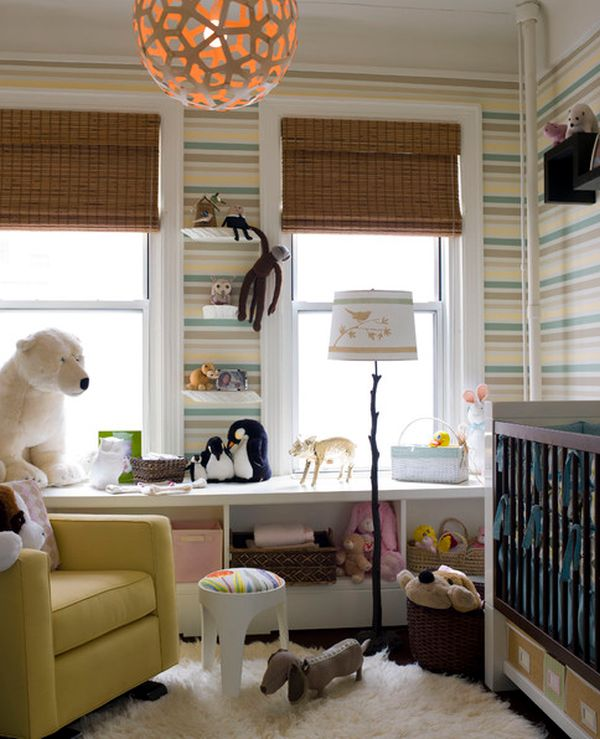 Nursery Room Themes » Dazzling-Baby-Nursery-with-African-Theme