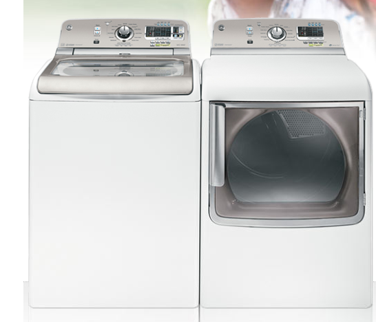 GE Top Load Washer and Dryer