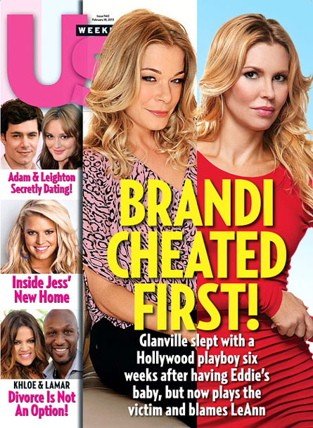 Brandi Glanville Cheated on Eddie Cibrian?