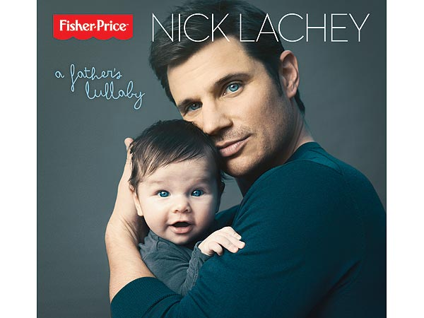 Nick Lachey's Adorable Album Cover – With Son Camden