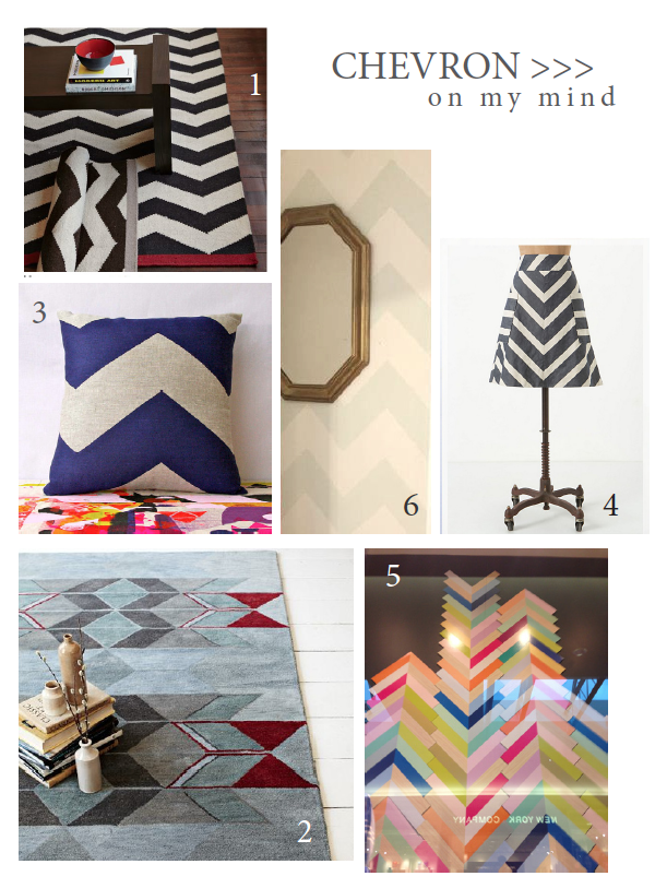 Chevron On My Mind…