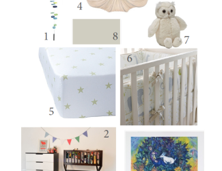 My Modern Nursery Design