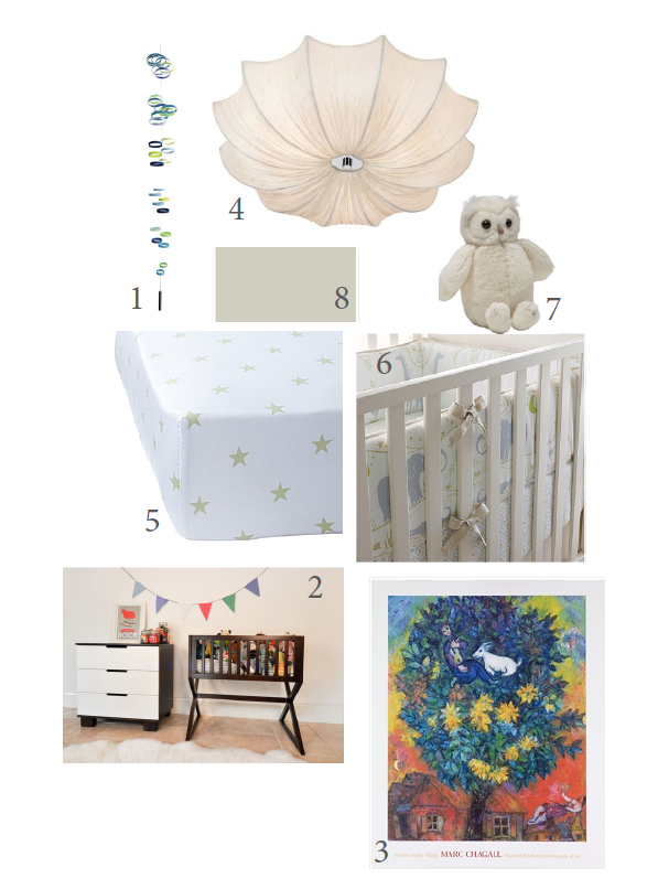 My Modern Baby Nursery Design