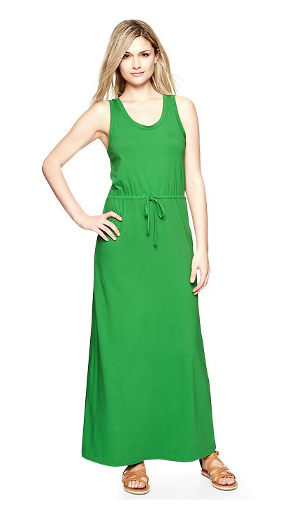 Gap Tank Maxi Dress - $69.95 plus 30% OFF today SPRINGAIR