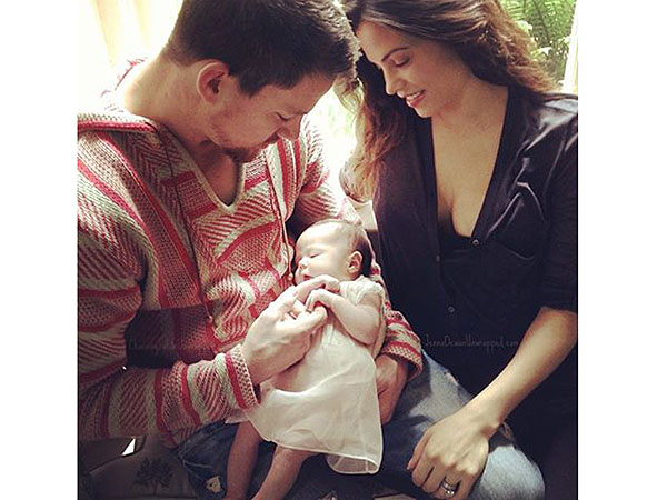 Channing Tatum and Jenna Dewan Show Off Daughter Everly