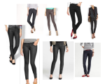 Coated Skinny Jeans All the Rage