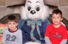 The Boys With the Summit Mall Easter Bunny! #SummitMall