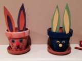 Easter Bunny Planter Pot Craft (VIDEO)