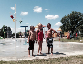 Splash pad broadview heights