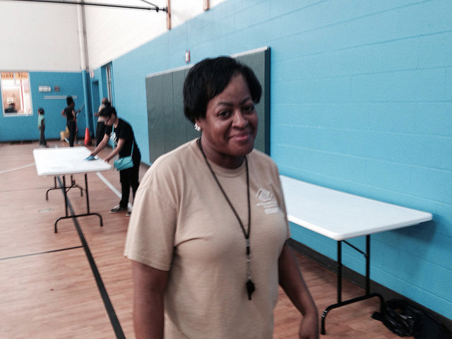 Gloria Jones from the Boys and Girls Club of Cleveland.