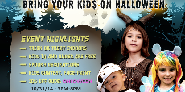 Trick or Treat at Wizard World Comic Con in Columbus! Get 10% OFF DISCOUNT CODE!
