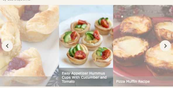 Holiday Happy Festive Appetizers from Foodie.com #Foodie