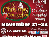 I-X Christmas Connection November 21-23 at the I-X Center! Enter to Win a 4 Pack of Tickets! #IXCenter