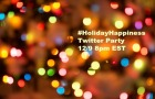 Join the Holiday Happiness Twitter Party Sponsored by Chase Freedom on 12/9 Winners (2 – $500 Amazon Winners) #HolidayHappinessBH