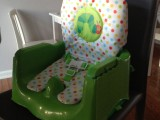 Eric Carle Happy and Hungry Booster Seat