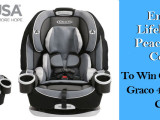 Enter to Win Graco Car Seat! The Lifebank USA Peace of Mind #Contest
