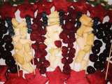 4th of July Fruit Plate