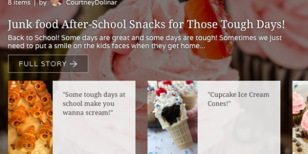 Junk food After-School Snacks for Those Tough Days! @Mode