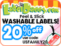 Save 20% on Label Daddy labels for Back to School! #BacktoSchool