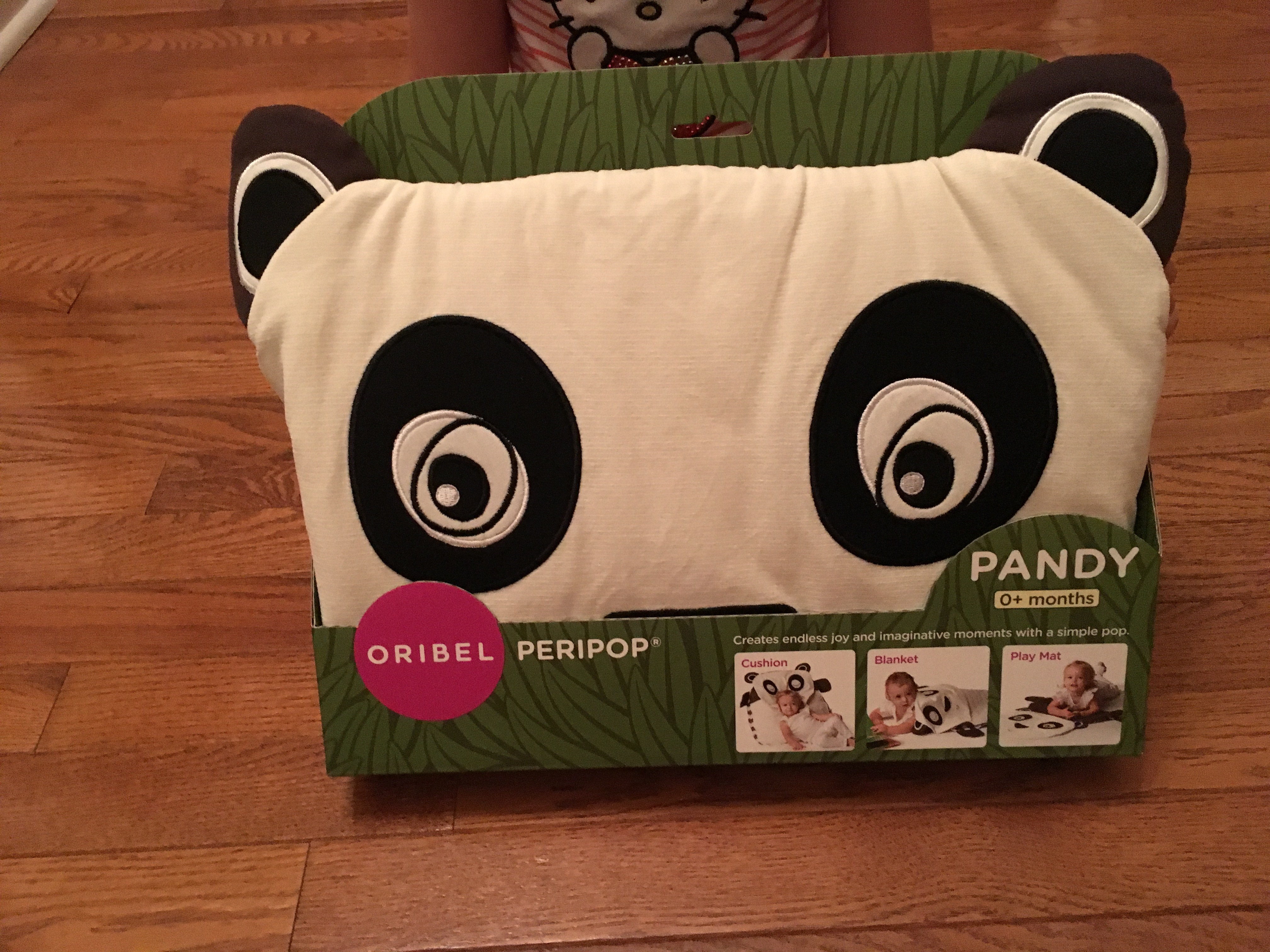 Pandy the Peripop – Multiple Use Play Mat and Storage Pillow