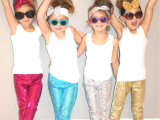 Sparkle Pants and Headband Hair Bows from The Little Bling