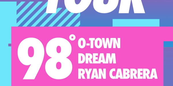 GIVEAWAY 2 TICKETS: 98 DEGREES, O-TOWN, DREAM, RYAN CABRERA @My2KTour