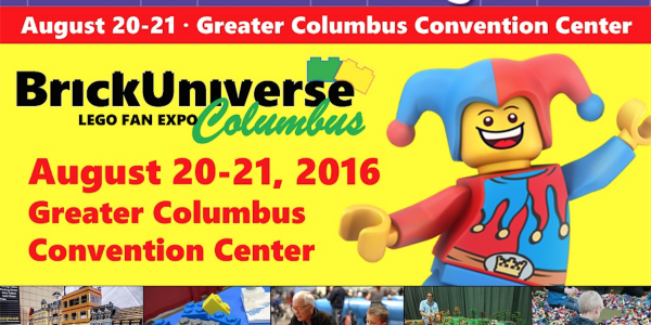 LEGO Extravaganza Columbus August 20-21, 2016!! GIVEAWAY!!