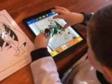 Paper-to-digital coloring books