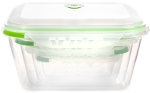 Ozeri INSTAVAC Earth Green Nesting Food Storage Container Set