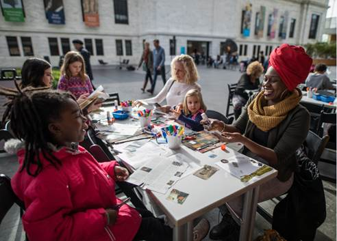 Artful Mother's Day at the Cleveland Museum of Art  Mothers receive free admission to Eyewitness Views